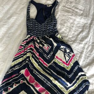 Roxy summer dress with open back